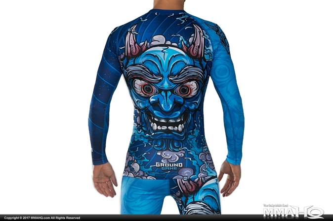Ground Game Oni Rashguard